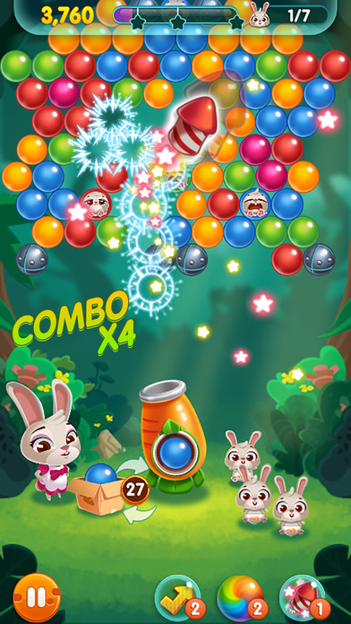Bunny Pop! screenshot 2