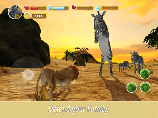 Zebra Family Simulator screenshot 7