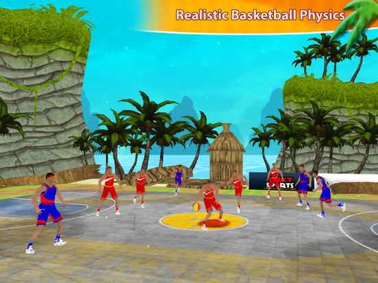 Beach Basketball Hoops - Slam Dunks for NBA Fans screenshot 7