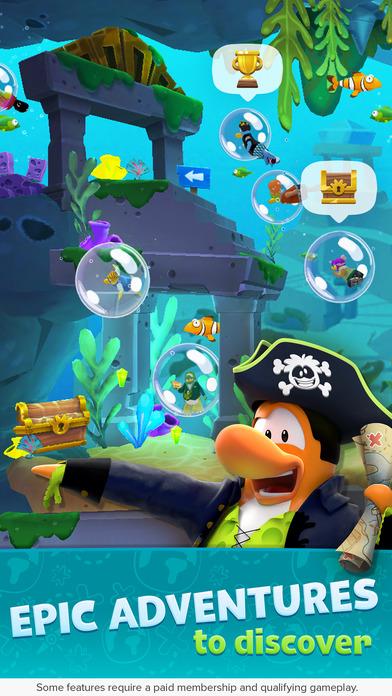 Club Penguin Island screenshot 3