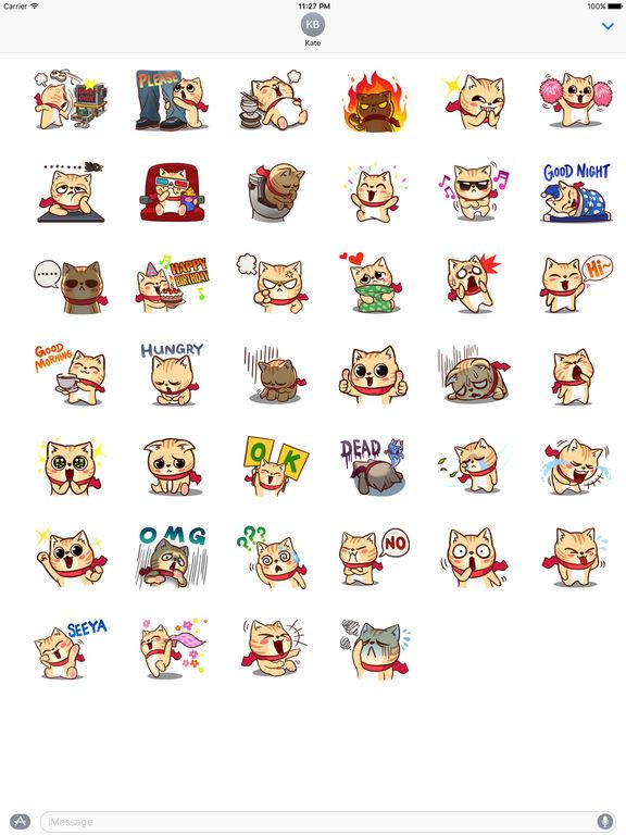 Many A Greedy Cat Stickers screenshot 4