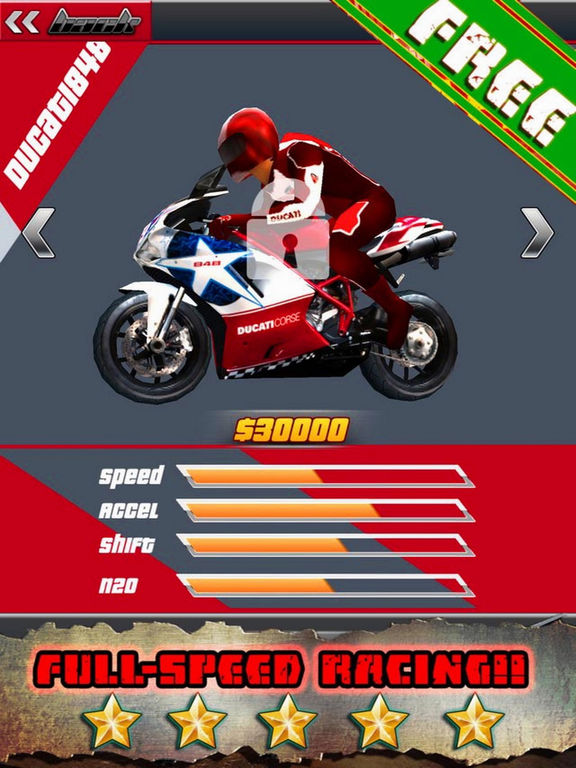 Crazy Racing Moto City screenshot 6