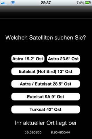 SatFinder GPS Pro - náhled