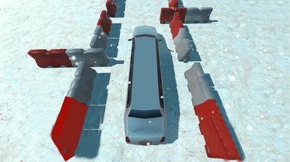 Snow Limo Parking : Crazy Driving Sim-ulator 2017 screenshot 2