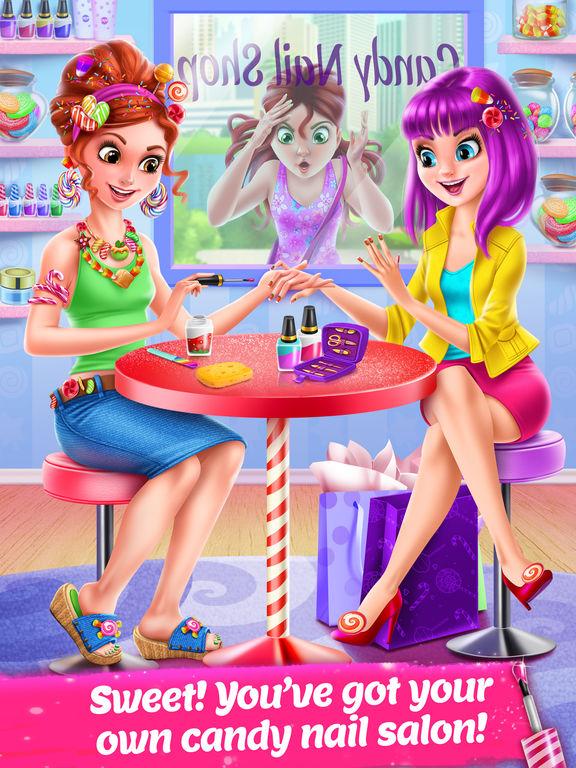 Candy Nail Art - Sweet Spa Fashion Game screenshot 6