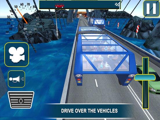 Super Elevated Bus : City Public Travelling Drive screenshot 6
