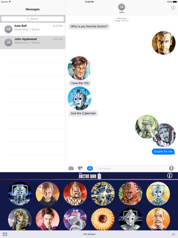 Doctor Who Stickers Pack 1 screenshot 7