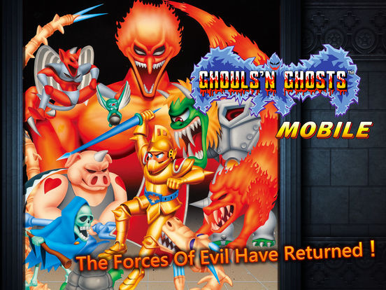 Ghouls'n Ghosts MOBILE screenshot 5