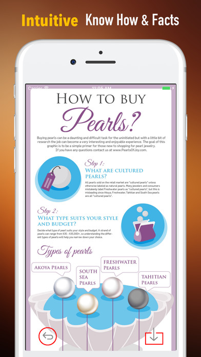 Pearl Buying Tips-How to Identify Pearl Jewelry screenshot 1