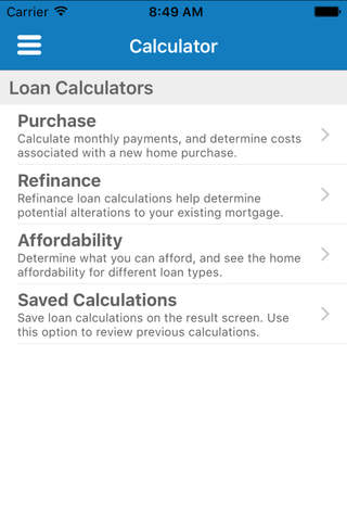VACU Mobile Mortgage - náhled