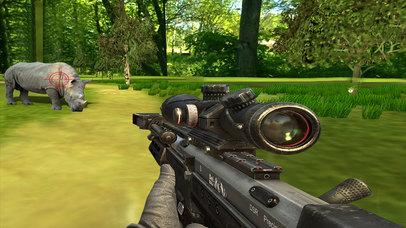 Jungle Hunting Simulator : 3D Sniper Shooting screenshot 2