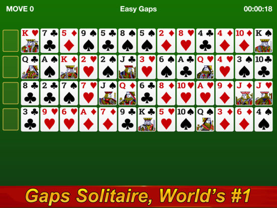 Gaps Solitaire screenshot 3
