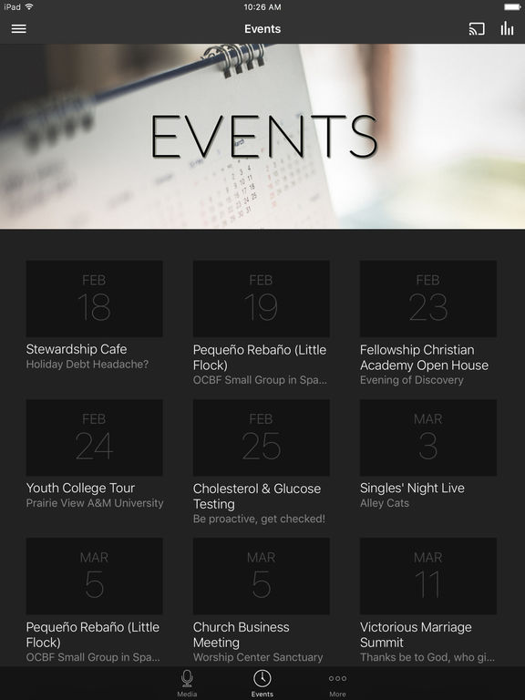 OCBFChurch App screenshot 5