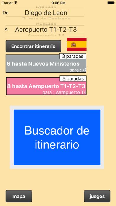 Metro De Madrid Mapa Y Buscador De Itinerarios Apps 148apps