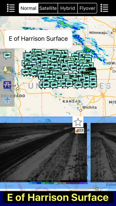Nebraska NOAA Radar with Traffic Cameras Pro screenshot 3