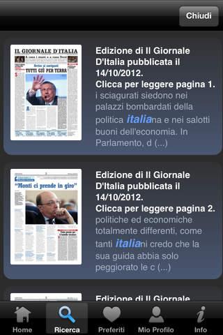 Il Giornale d'Italia Edicola Digitale - náhled