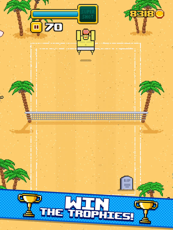 Timber Tennis screenshot 9