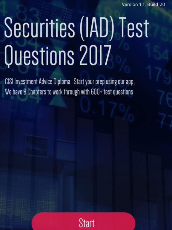 Securities Test Question screenshot 5