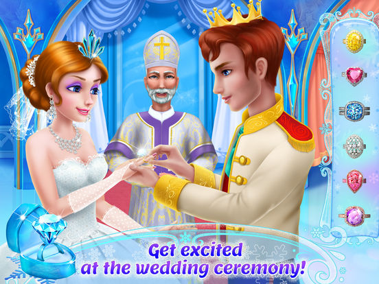 Ice Princess Royal Wedding Day screenshot 9
