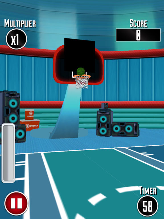 Basketball Dunk Challenge 3D screenshot 9