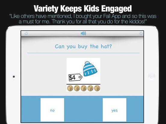 Kindergarten Learning Games - Winter Review App screenshot 10