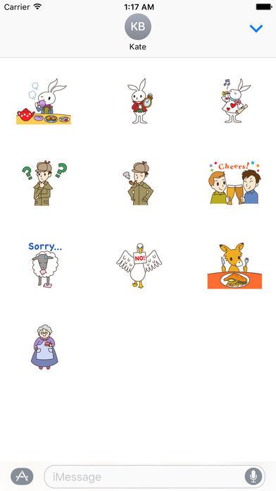 I Love Uk Stickers Pack screenshot 3