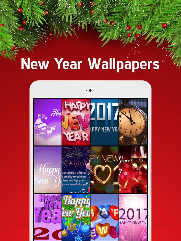 New Year Wallpapers - Christmas Countdown & Cards screenshot 5