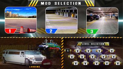 Fancy Limousine Parking : New Car Sim-ulation Game screenshot 1