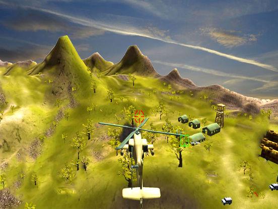 War-ship Sea Helicopter Strike : 3D Battle-Field screenshot 5