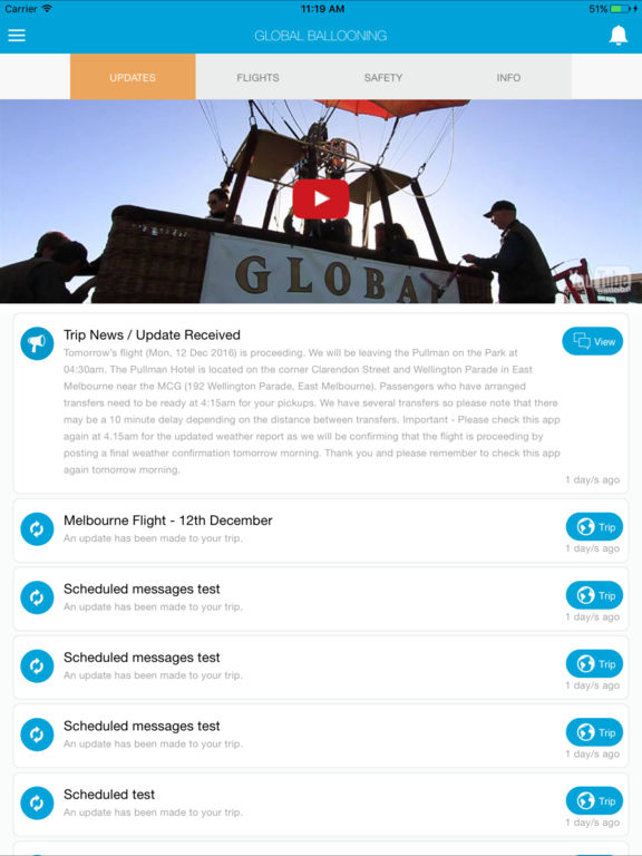 Global Ballooning Australia screenshot 5