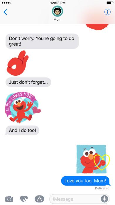 Elmo Stickers screenshot 4