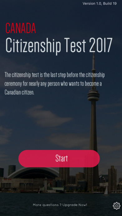 Canada Citizenship 2017 - All Questions screenshot 1