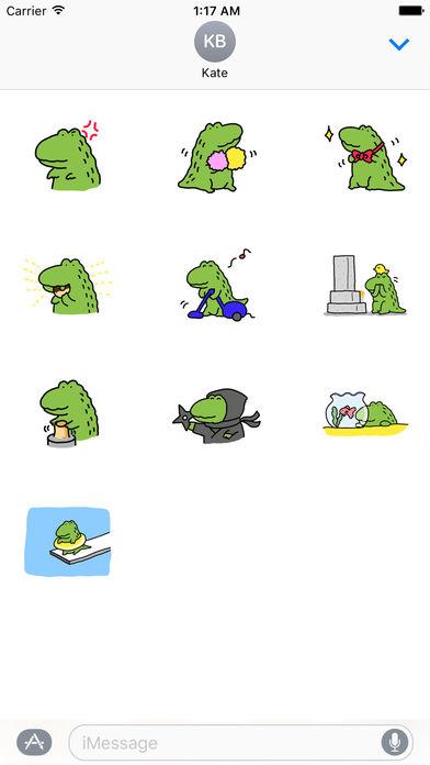 Alligator My Lovely Pet Sticker screenshot 3