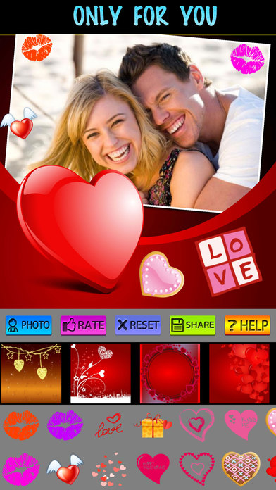 Love Photo Frames (HD) screenshot 4
