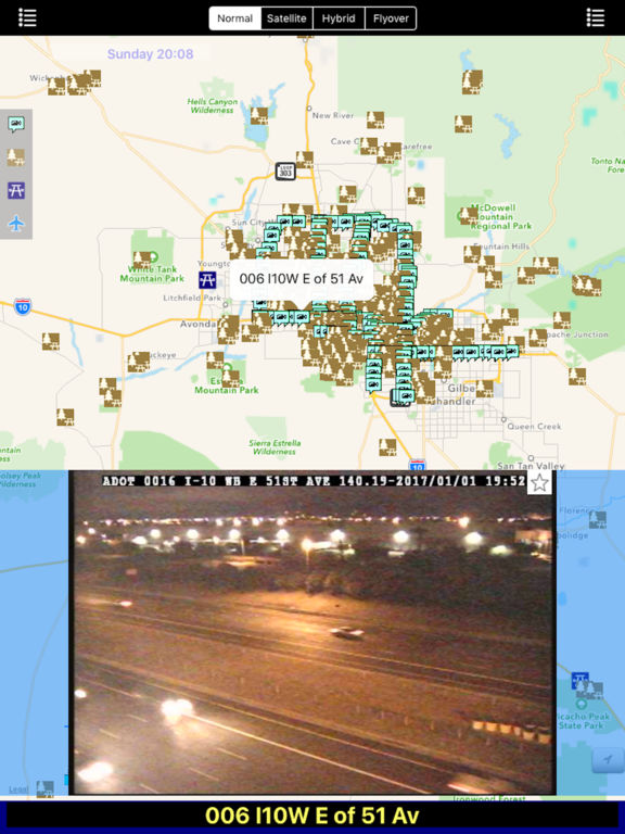 Arizona NOAA Radar with Traffic Camera 3D Pro screenshot 7