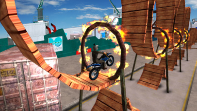 Tricky Bike Trail Stunt : Real Crazy Ride-r 2017 screenshot 2