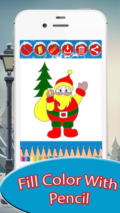 Christmas Drawing Pad - holiday activities for kid screenshot 2