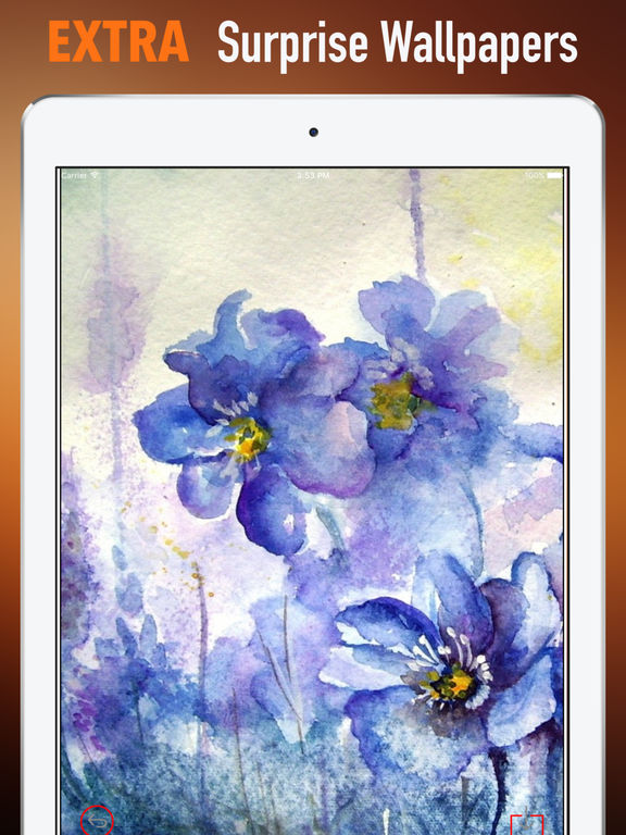 Watercolour Flowers Wallpapers HD- Quotes and Art screenshot 8