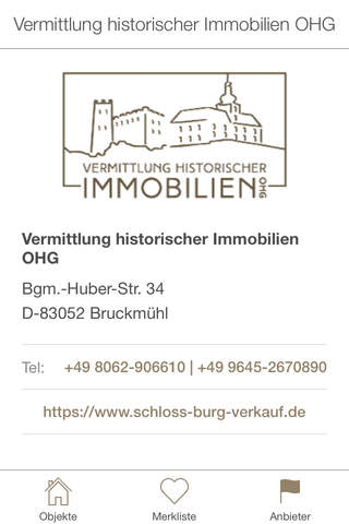 Schloss kaufen - náhled