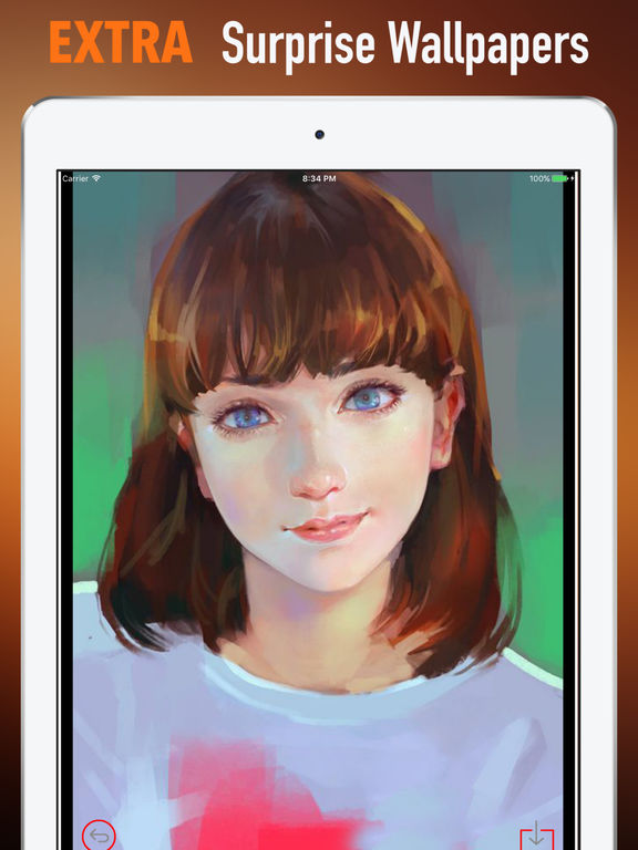 Portrait Wallpapers HD- Quotes and Art Pictures screenshot 8