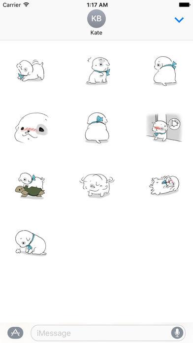 Sweet Puppy Stickers screenshot 3