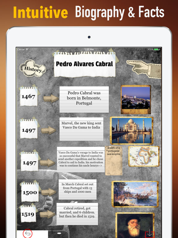 Biography And Quotes For Pedro Cabral Apps 148apps