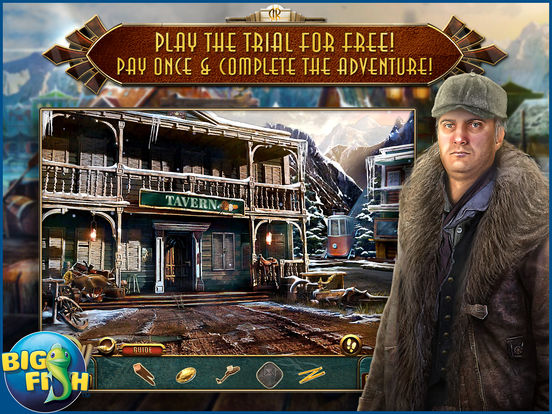 Dead Reckoning: Snowbird's Creek - Hidden Objects screenshot 6