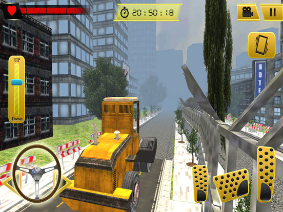 Road Roller and City Builder with Excavator screenshot 6