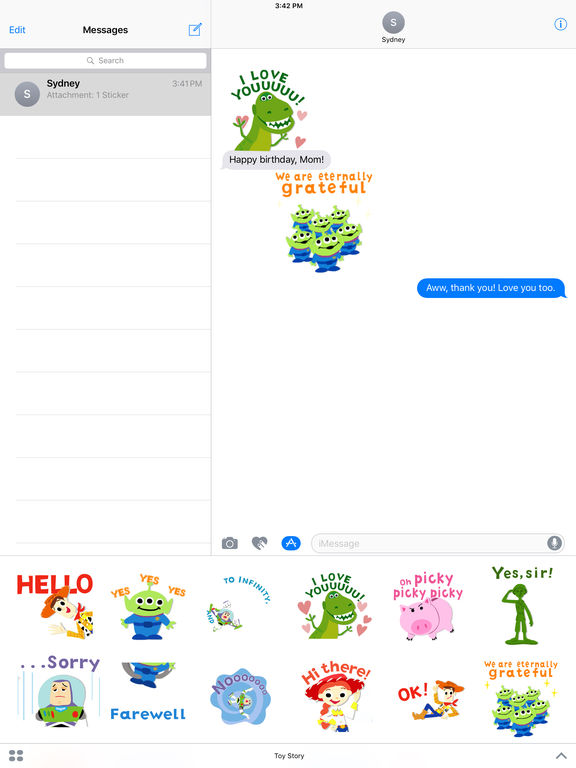 Pixar Stickers: Toy Story screenshot 8