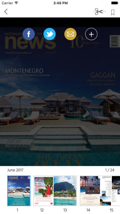 Destinations of the World News screenshot 2