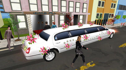 Limo Wedding Transport with Luxurious Parking screenshot 2