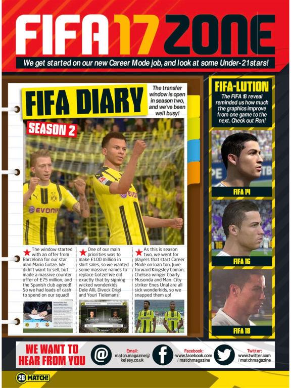 Match Magazine screenshot 10