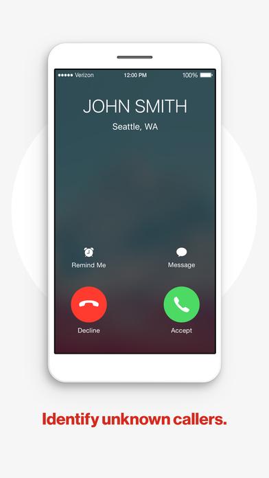 Verizon Call Filter screenshot 2