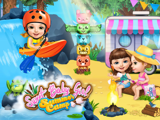 Sweet Baby Girl Summer Camp - No Ads screenshot 6